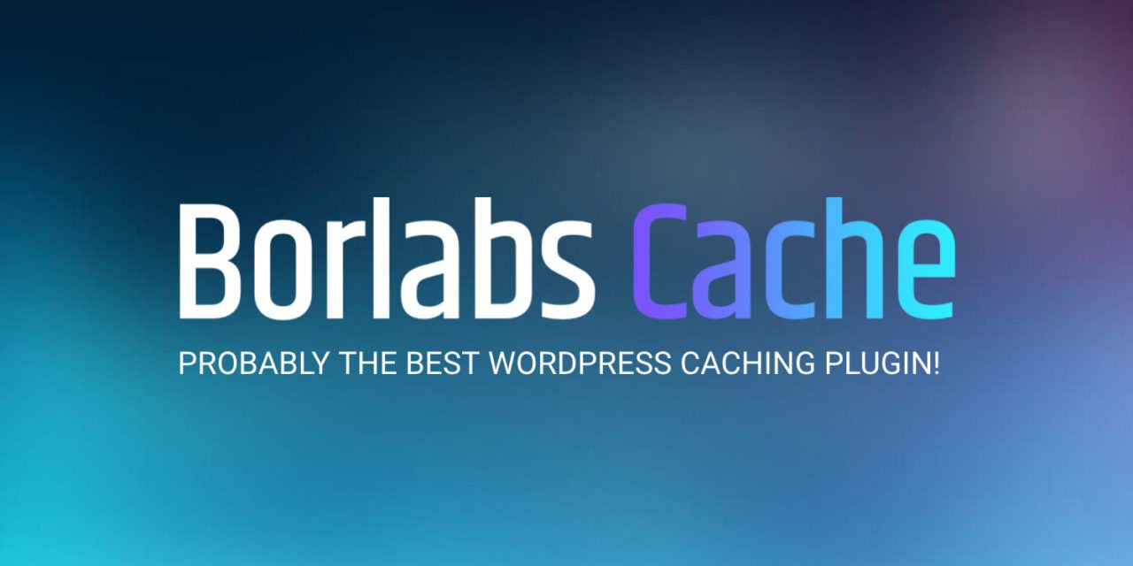 Increase Your WordPress Google PageSpeed Index with Borlabs Cache